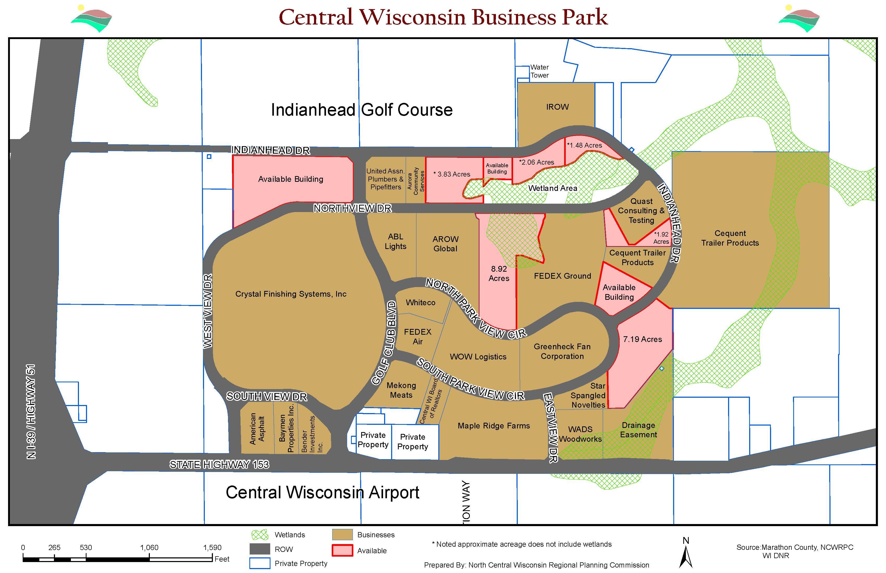 Cwbpmap Highway 39 Wisconsin